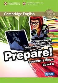 English Prepare! 6