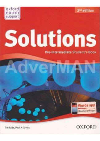 Solutions, 2nd Edition. Рівень Pre-Intermediate