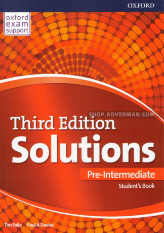 Solutions 3rd Edition Pre-Intermediate